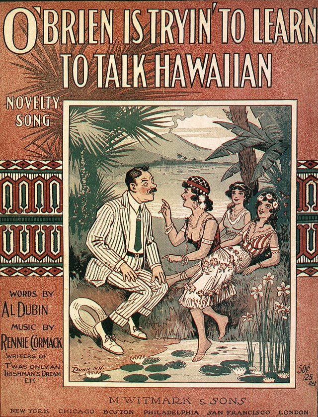 1916_SM_OBrien_Is_Trying_To_Learn_To_Talk_Hawaiian