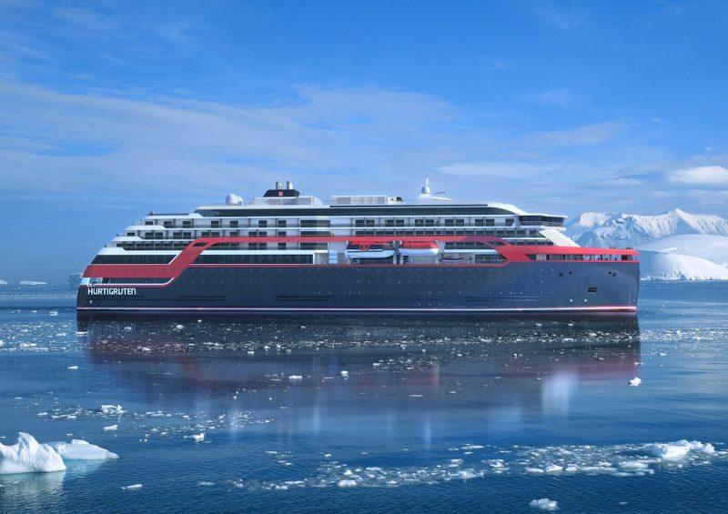 Hurtigruten expedition vessel