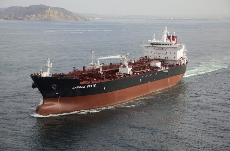 The Garden State is the third ECO-class tanker delivered to APT in the last year, and the seventh ship overall delivered by the San Diego-based shipyard. Photo: General Dynamics NASSCO