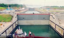 Panama Canal Time-lapse