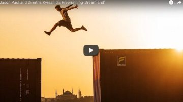WATCH: Free Running A Container Terminal in Turkey
