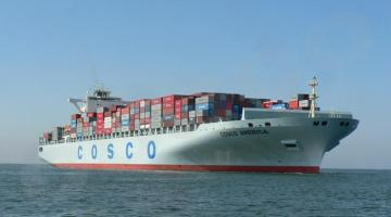China COSCO Posts $1 Billion Loss After Mega-Merger