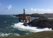 Transocean Rig Aground in Scotland After Tow Breaks in Heavy Weather – Incident Photos