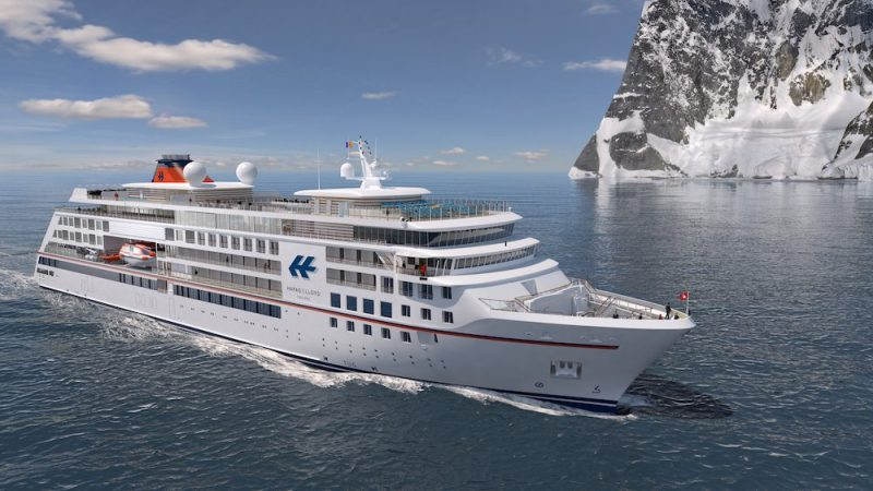 The VARD 6 07 expedition cruise ships hapag-lloyd