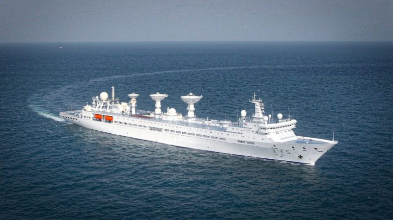 Yuanwang-5 china spy ship
