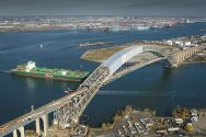 WATCH Progress On New York Harbor's Bayonne Bridge