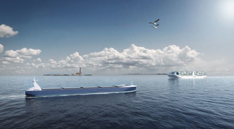 Finland's autonomous maritime ecosystem initiative aims to build a common roadmap for reaching autonomous marine operations, enabling effective co-operation between industry, research institutes, class societies and authorities. Photo: Rolls-Royce.