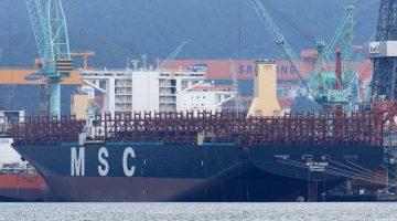 Megaship MSC Eloane Delivered to Ocean Yield