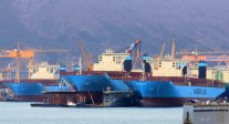 Maersk Ends Mega-Ship Building Era With Focus on Takeovers