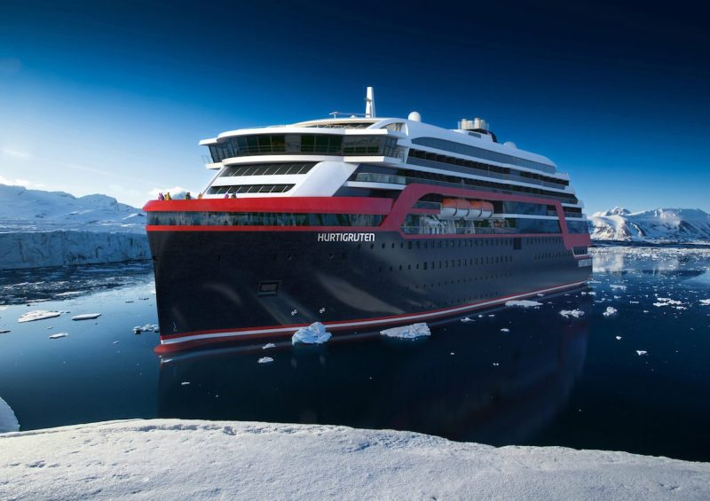 Illustration: Hurtigruten