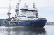 Arctech Helsinki Delivers World's First LNG-Powered Icebreaker to Finnish Government