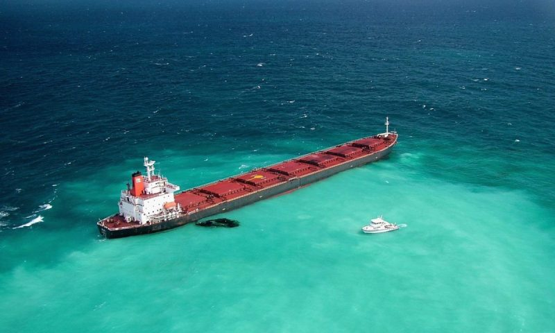 Shenzhen bulker aground on Great Barrier Reef