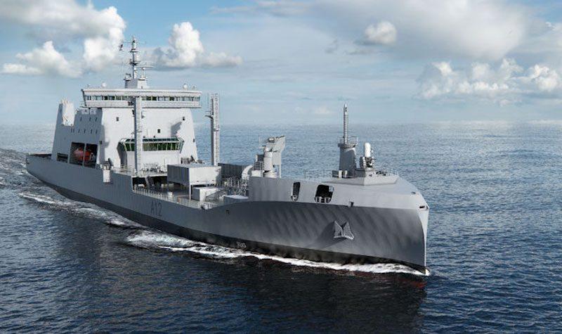 Rolls-Royce Environship navy ship