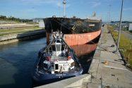 Photos: First Bulk Carrier Through Expanded Panama Canal
