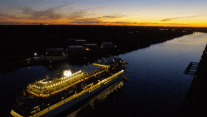 WATCH: Viking Star Traverses Cape Cod Canal – 4K Drone Footage