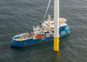 Ship Photos of the Day – World's First X-Stern 'Windea La Cour' Goes to Work at North Sea Wind Farm