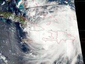 Hurricane Matthew Over Windward Passage, to Head Towards Bahamas and Florida