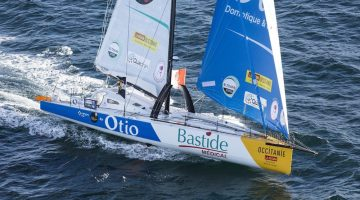CMA CGM Supply Ship Racing to Save Stricken Pro Skipper Kito de Pavant in Southern Ocean