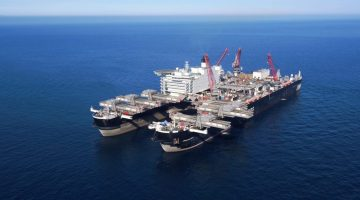 Giant Pioneering Spirit Lands Pipelay Work in Black Sea