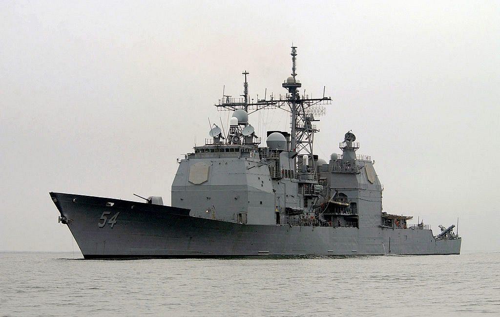 USS Antietam (CG54). U.S. Navy file photo