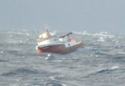Disabled Fishing Vessel, Coast Guard Cutter Rescued from Gulf of Alaska