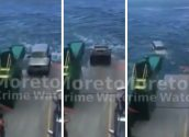 WATCH: SUV Rolls Off Ferry in Australia