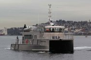 PHOTOS: Vigor Delivers New Research Vessel to State of California