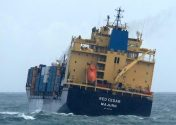 Fifteen Containers Lost from Cargo Ship in North Sea