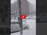 WATCH: Close Call in Bosphorus Strait – Containership Nearly Hits Land During Snowstorm