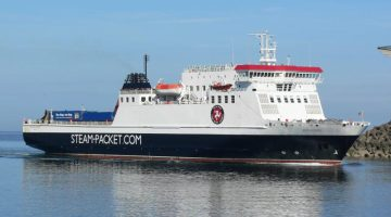 WATCH: Isle of Man Ferry Slams Into Pier – Incident Video