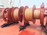 Mooring ropes with Dyneema® show minimal wear after six years in service on VLCC