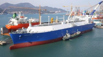 Ship Photos of the Day – Teekay's MEGI LNG Carrier 'Creole Spirit' Celebrates One Year in Operation
