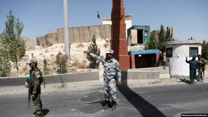 The attack occurred at a checkpoint in the Khogyani district near the provincial capital of Ghazni Province. (file photo)