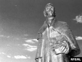 Пам'ятник Шевченку роботи Лео Мола,  подарований Івано-Франківську