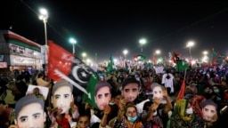 The Pakistan Democratic Movement has staged large rallies in two major Pakistani cities during the past week, attracting tens of thousands of demonstrators. The movement has vowed to continue protests until its demands are met.