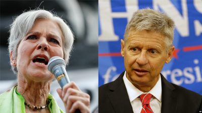 Who Are the Libertarian and Green Party Presidential Candidates?