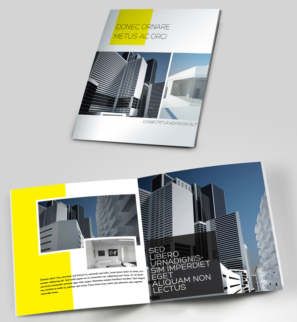 25 Brochure Designs Creative   Inspiring   Inspiration   Graphic     Construction Company Brochure  25 Brochure Designs Creative   Inspiring