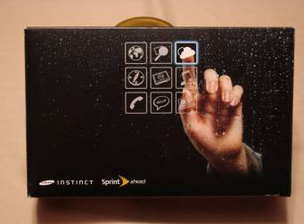 Gear Diary Unboxing the Sprint Samsung Instinct photo