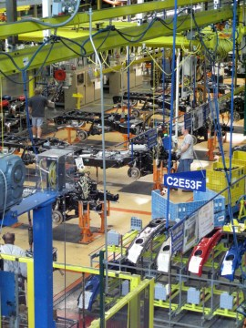Gear Diary The Ford Rouge Factory Tour: Featuring the 2009 F 150 photo