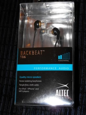 Gear Diary Review: Altec Lansing Backbeat 106 Headphones photo