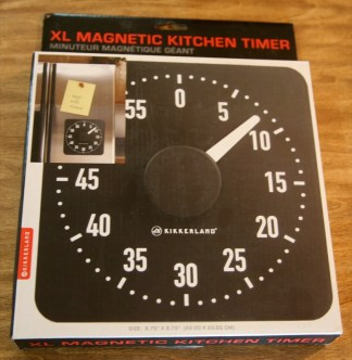 Gear Diary The Useful Things Magnetic Rotary Kitchen Timer Review photo