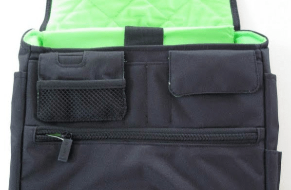 Speck PortPack Shoulder Bag inside closeup