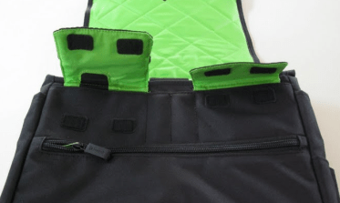 Speck PortPack Shoulder Bag inside pockets