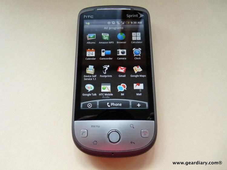 Sprint HTC Hero -17