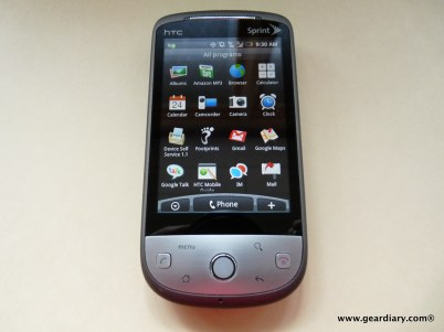 Sprint HTC Hero -17