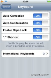 Gear Diary Add Custom Words to iPhone Dictionary photo