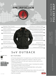 Gear Diary An Exclusive Look at the SCOTTEVEST Fall 2010 Men's Line; Much Ado About Something photo