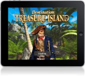 Destination Treasure Island iPad