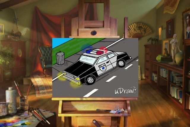 Udraw Studio-police car