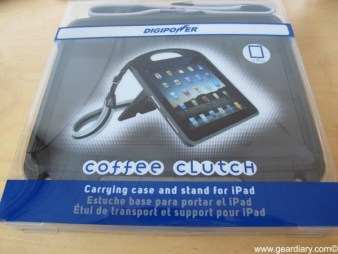 Gear Diary iPad Accessory Review: DigiPower Coffee Clutch Carrying Case and Stand photo